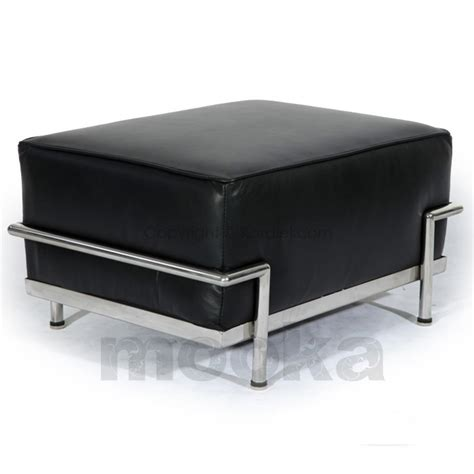 Le Corbusier Lc3 Ottoman Mooka Modern Furniture