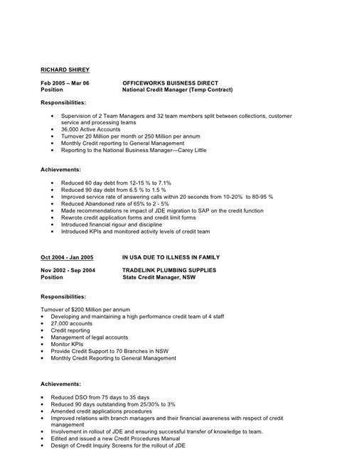 Resume Exle For Woolworth Resume Updated
