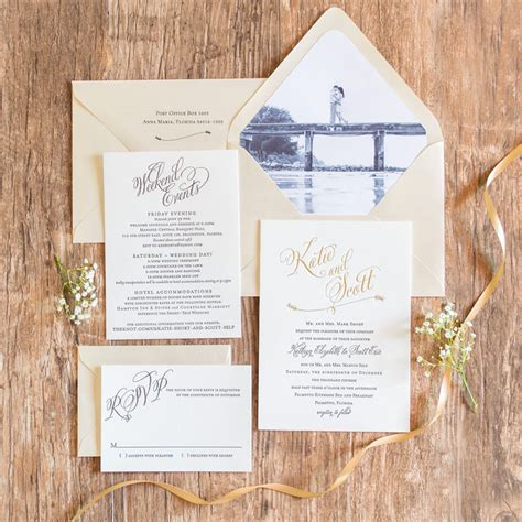 custom wedding invitations riverside ca al fresco inspired wedding invitations