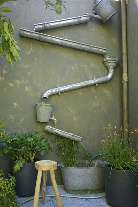 crystal clear  calming diy water feature ideas