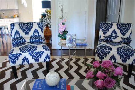 ikat home decor ikat chairs panda s house