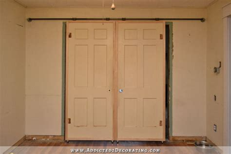 How To Build A Barn Style Door Hometalk Diy Barn Door Style Doors With A Twist