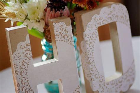 letras decoradas como fazer we share ideas diy letras rendadas
