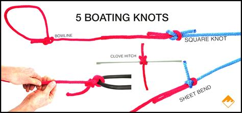 good boat knots fit to be tied 5 essential knots for boaters