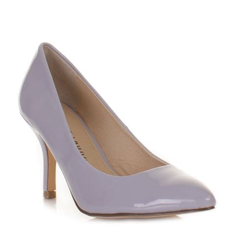 lilac shoes womens laundry area lilac patent kitten heel court