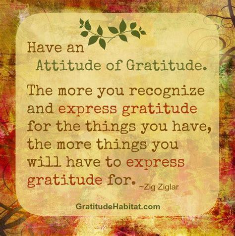 Zig Ziglar Thank You Letter Living In Gratitude An Attitude Of Gratitude Gift Gratitude At Gratitude Habitat