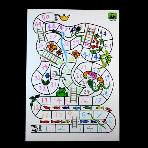 make your own board game snake ladder royal rae