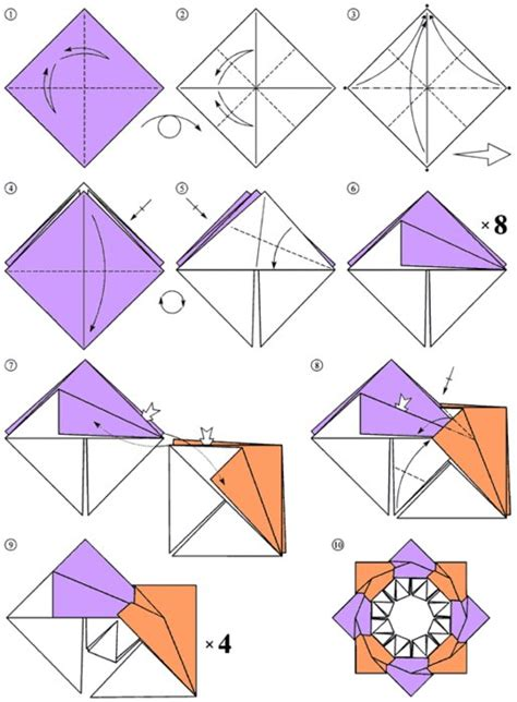 Paper Folding For Children - children crafts origami a assembly design how