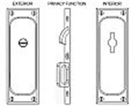 Emtek Products Inc 2105 Privacy Emtek Classic Solid Brass Mortise Pocket Door Privacy Latch Emtek Hardware Templates