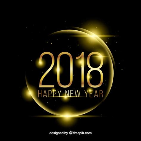 new year rat 2018 2018 new year background vector free