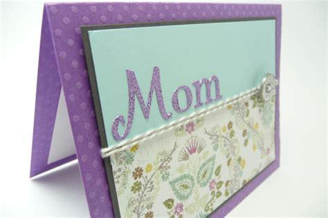 handmade mothers day card a5 handmade mothers day card mother s day card handmade paper greeting card purple