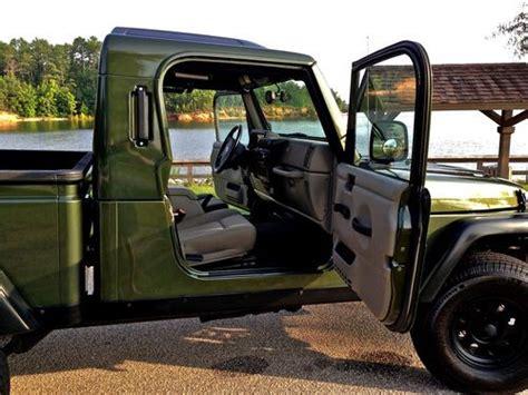Jeep Rubicon Truck Conversion Sell Used 2006 Jeep Wrangler Tj Rubicon Aev Brute