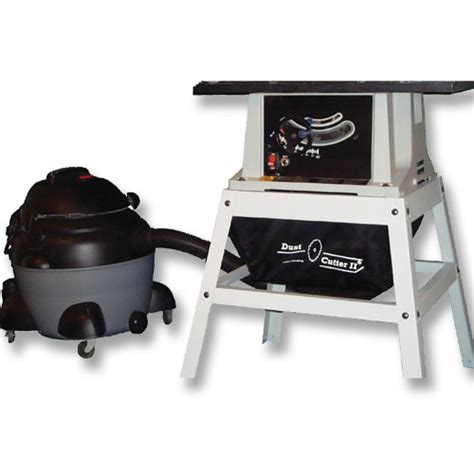 table saw dust collection miscellanous dust collection dust cutter ii table saw