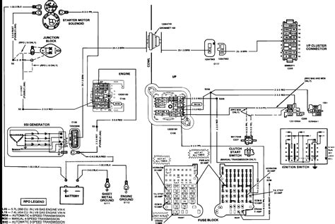 1990 chevy k5 blazer radio wiring diagram wiring diagram