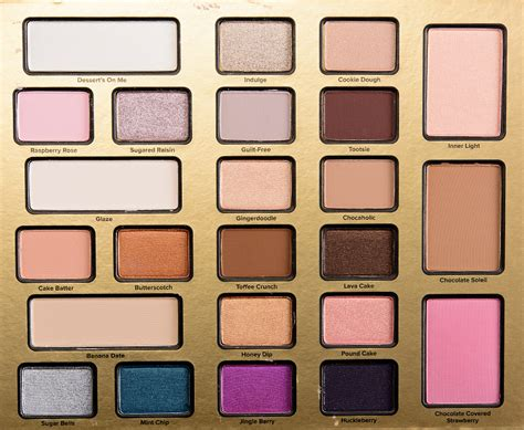 Eyeshadow Shop faced the chocolate shop eyeshadow palette review