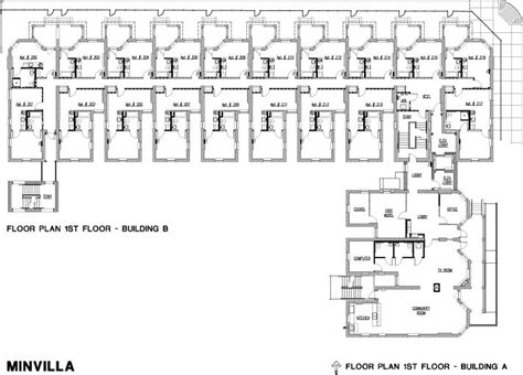 Most Efficient Floor Plans by Knoxville Tennessee Minvilla Manor Historic