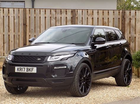 black land rover used black land rover range rover evoque for sale wiltshire