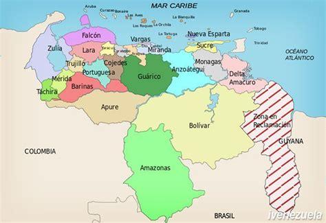 imagenes politicas graciosas venezuela divisi 243 n pol 237 tico territorial de venezuela mapa