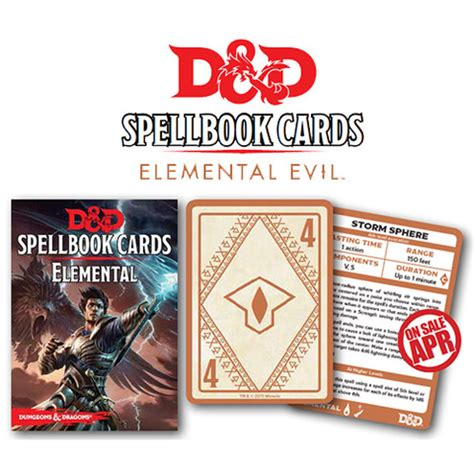 gale 9 diy spell cards template dungeons and dragons elemental spell deck 43 cards