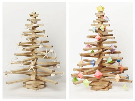 wooden tree decorations beautiful eco friendly tree home designing