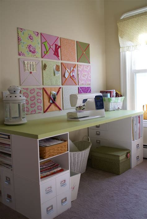 craft room table craft tables with storage attempting to organize your