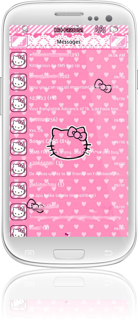 go sms themes hello kitty black kittilicious themes for android a collection of android