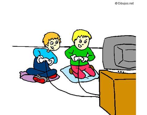 imagenes de niños jugando videojuegos animados dibujo de videojuegos pintado por soniajacqu en dibujos