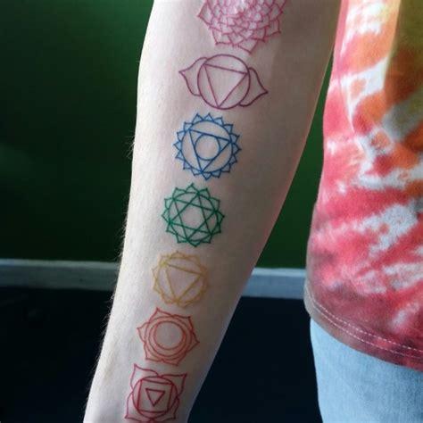 chakra tattoos