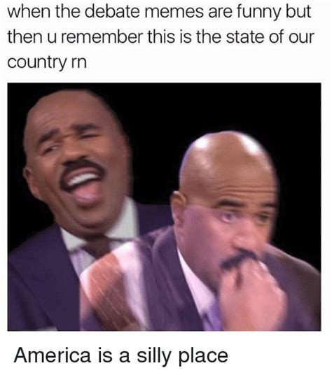 Debate Memes - when the debate memes are funny but then uremember this is
