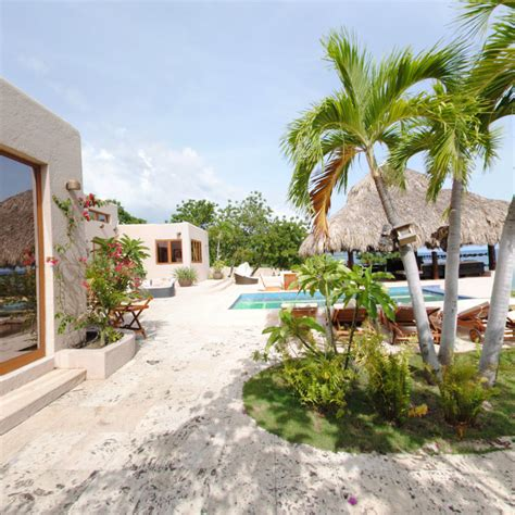 luxury beachfront house for sale at payen haiti