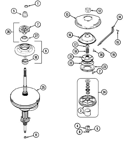 admiral washing machine parts diagram 301 moved permanently