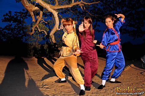 Kaos Maret Legend legenda trio macan dari pedangdut jadi pendekar kung fu