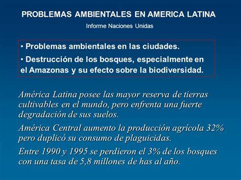 los problemas ambientales en las ciudades atajo avizora problemas ambientales aspectos globales regionales y
