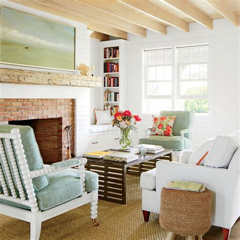 Shiplap Cottage Easygoing Cottage Living Room 15 Shiplap Wall Ideas For