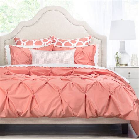 grey and coral bedding best 25 coral bedspread ideas on pinterest grey bed