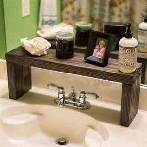 Shelf Over Bathroom Sink » Modern Home Design