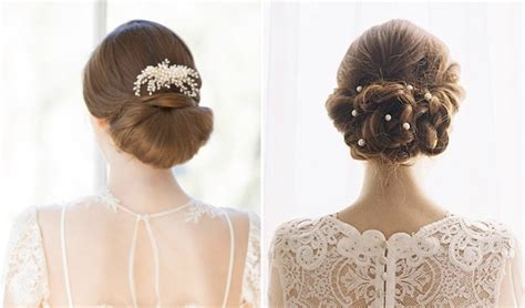dainty wedding hairstyle ideas spring 2016 9款時髦又適合春天的新娘髮型 亞洲婚禮網站
