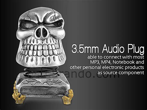mp skull mp3 usb skull mp3 player iii