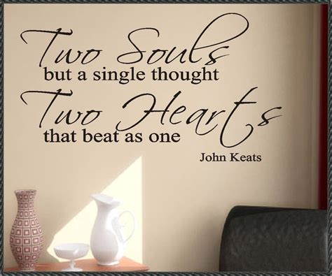 Marriage Quotes Keats by Walls That Talk Think Outside The Box