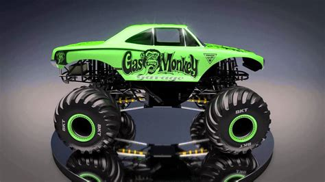 new monster truck videos all new monster jam truck gas monkey garage speed society