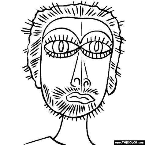 free coloring pages of paul klee