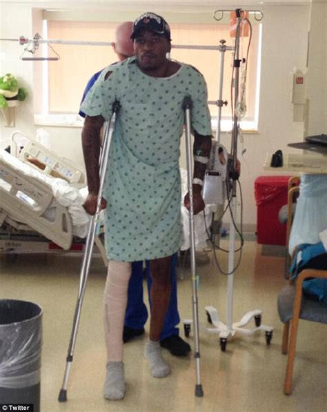 Player kevin ware in high spirits just a day after horrific leg injury