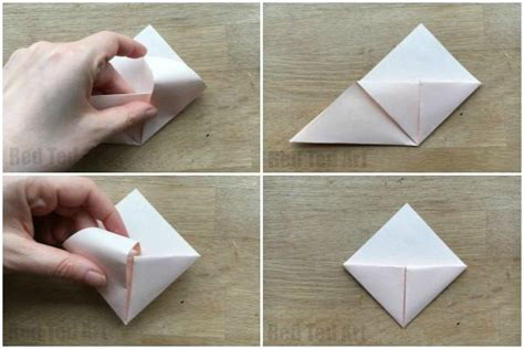 How To Make An Origami Corner Bookmark - how to make an origami bookmark corner ted s