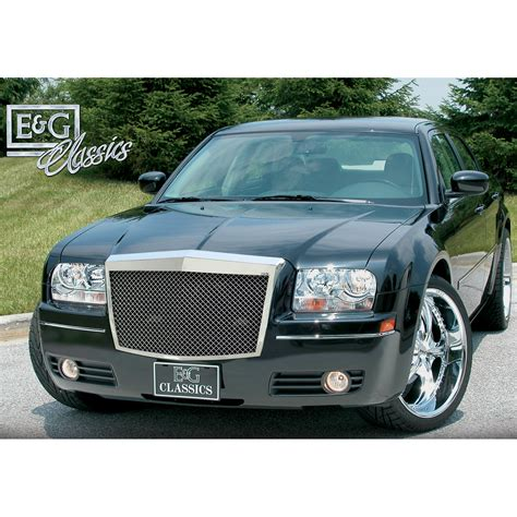 old chrysler grill e g classics 2005 2010 chrysler 300 300c grille classic