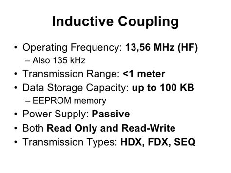 inductive coupling inductive coupling
