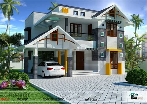 home design by yourself 1800sqft mixed roof kerala house design kerala house
