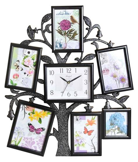 7 photo collage frame archies collage frames plastic wall hanging black collage