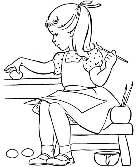 coloring pages to paint free painting for kids coloring home