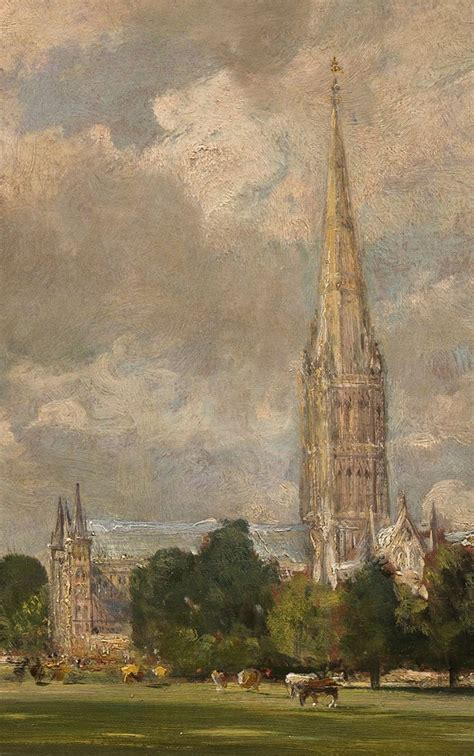 by john constable salisbury cathedral tierradentro salisbury cathedral from lower marsh close