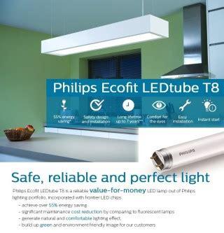 Lu Philips Led Ecofit 1200mm 16w 765 T8 Putih b 243 ng đ 232 n ecofit led philips 1m2 16w 765 t8 ap c g